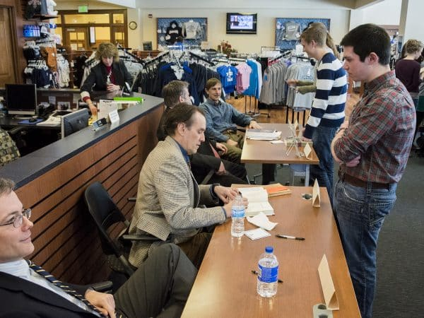 Faculty Book Signing