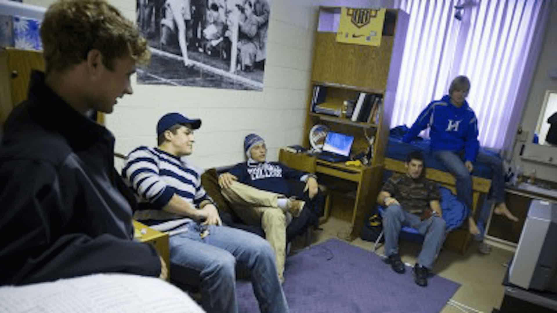 Simpson Dorm room