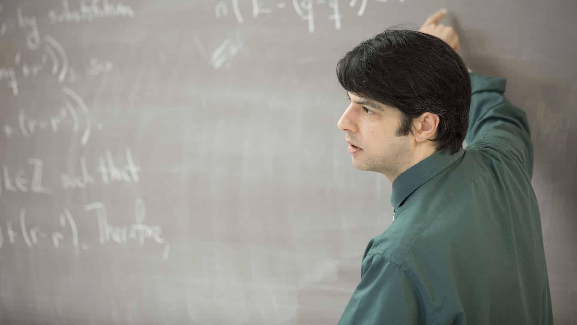 Dr. Murphy teaching