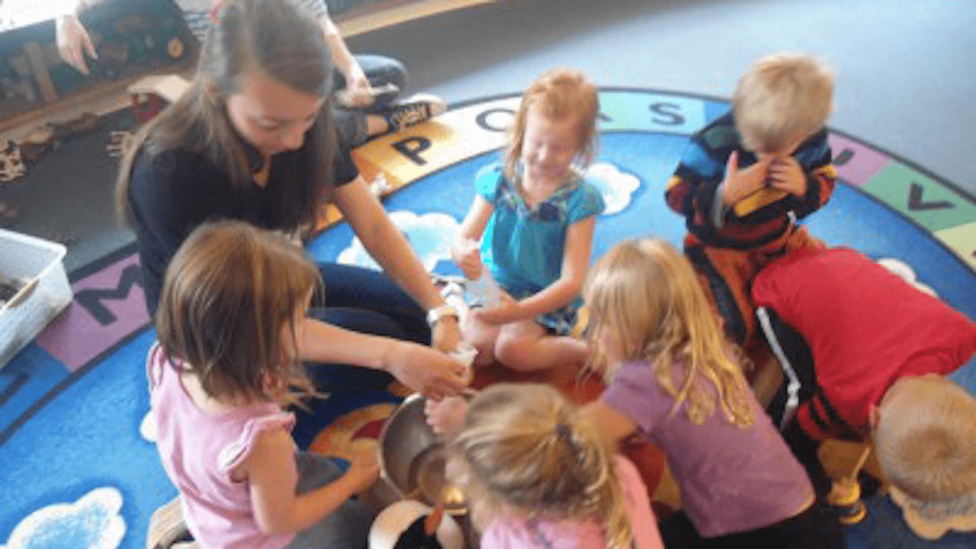 Mary Randall Preschool Students