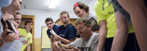 Biology students