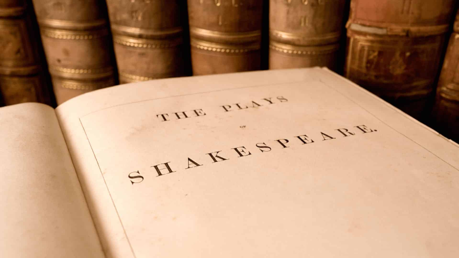 The Plays of Shakespeare title page