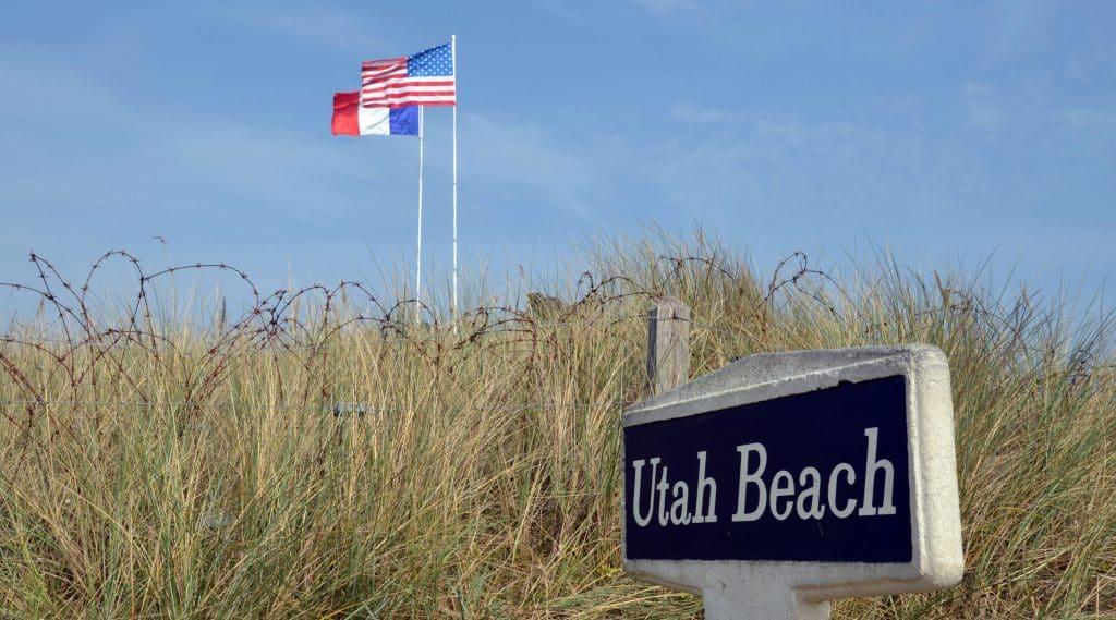 Normandy France Utah Beach