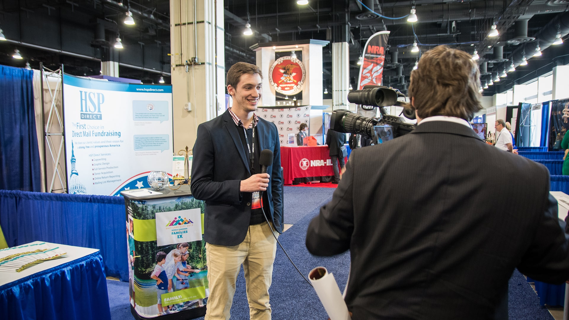 Alex Eaton at CPAC