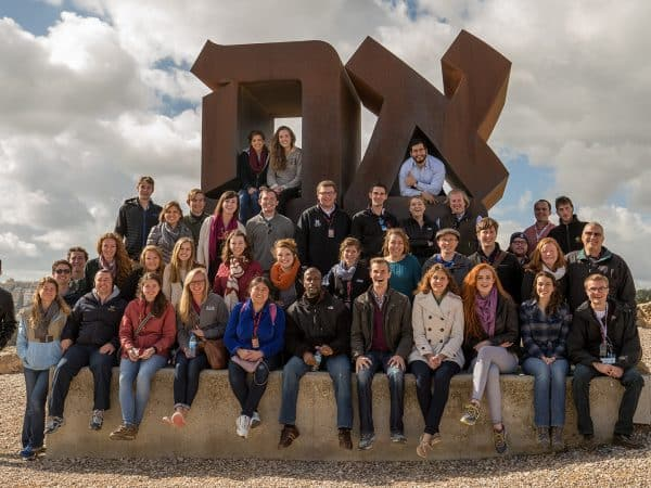 Israel Trip Group Photo