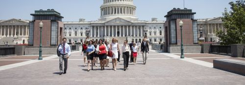WHIP Students on Capitol Hill