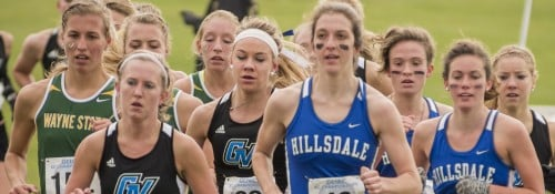 Hillsdale Cross Country Team at Tiffin