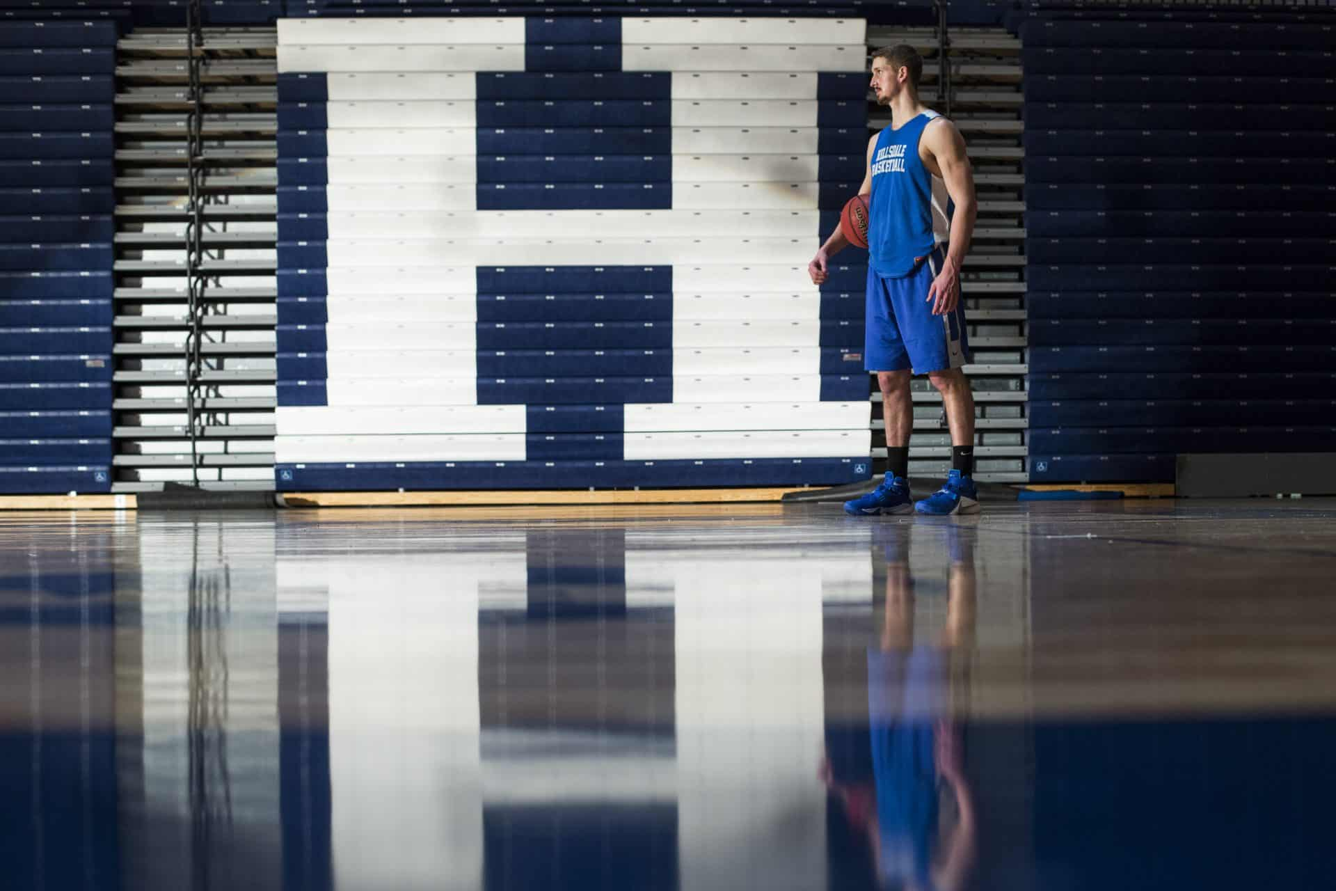 Kyle Cooper Hillsdale College Charger Basketball