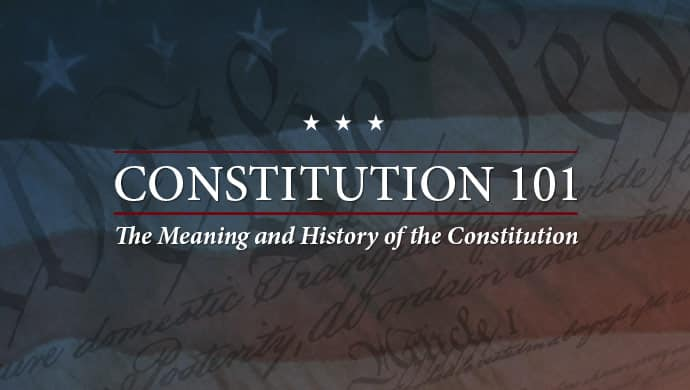 Hillsdale College Online Courses Constitution 101