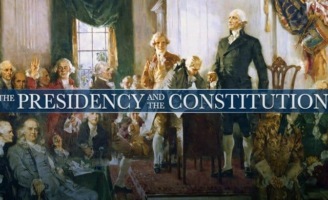 Hillsdale College Online Courses The Presidency and the Constitution
