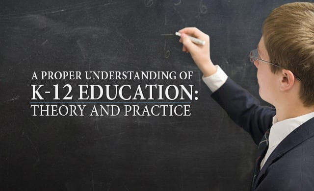 Hillsdale College Online Courses K-12 Education Theory and Practice
