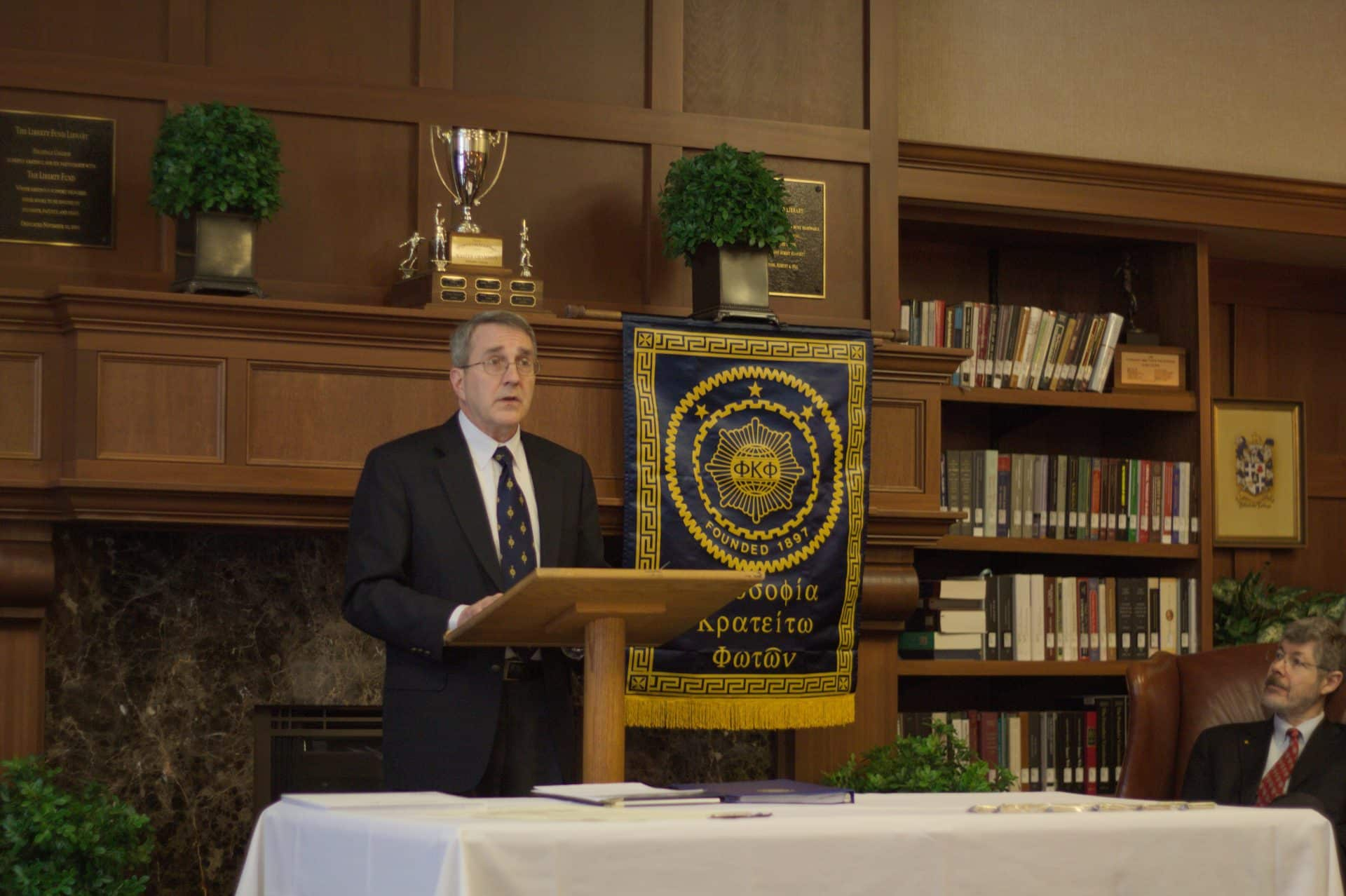 Phi Kappa Phi Installation Ceremony