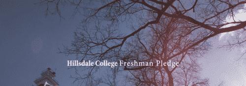 The Freshman Pledge