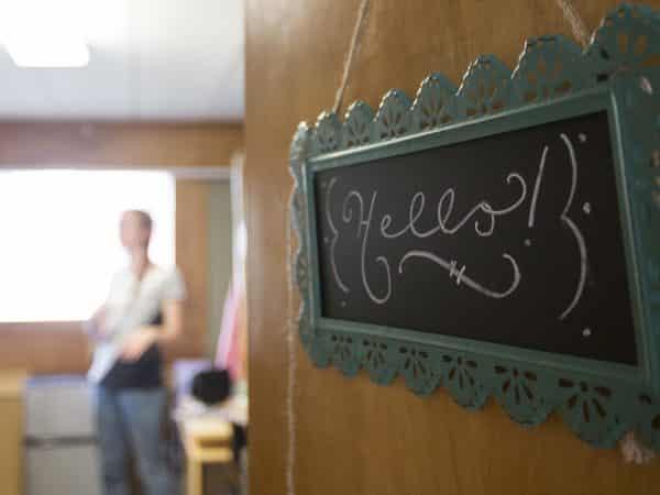 Dorm Room Door Sign