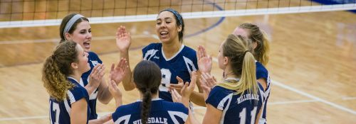 Hillsdale Chargers Volleyball