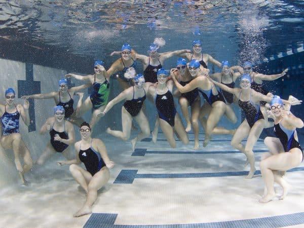 Charger Women's Swim Team