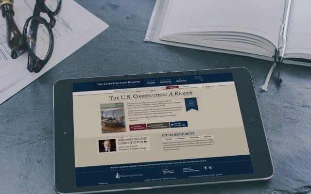 Constitution Reader Online