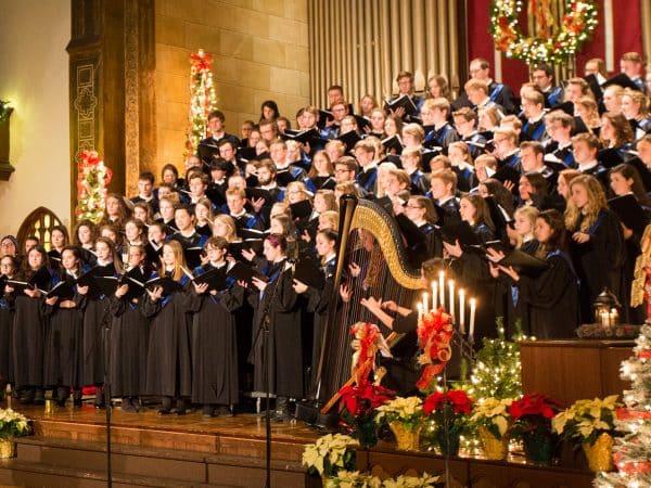 Hillsdale College choir