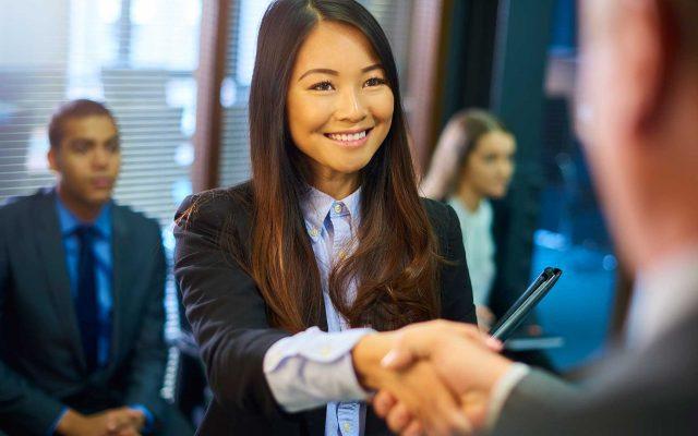 Student Meeting Career Professional