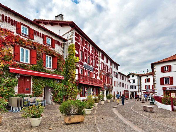 Espelette in France