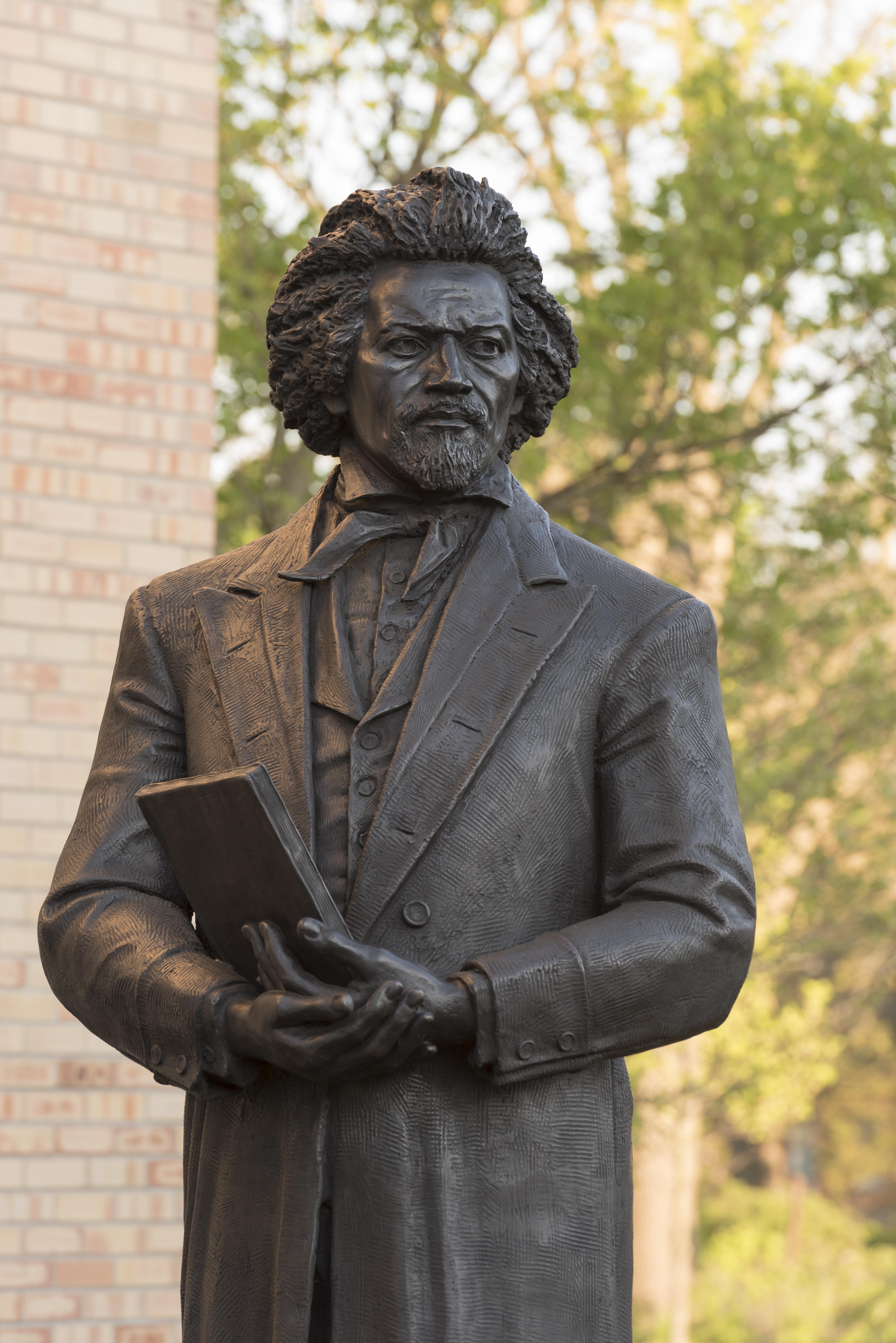 Frederick Douglass Statue Hillsdale Colle...