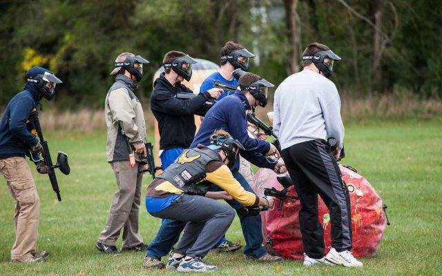 Student Activities Board Paintball