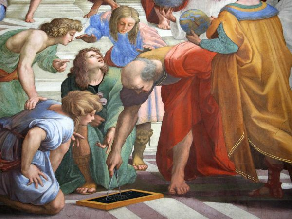 Philosophers in Athens painting by Raphael