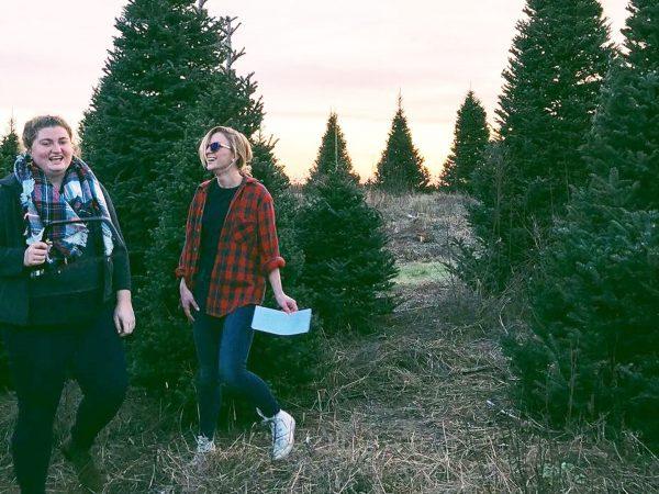 Emma and Cecilia