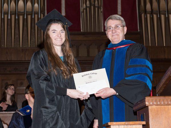 Finn Award Sarah Onken Hillsdale College Graduate Student