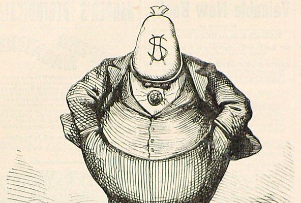 Thomas Nast Political Cartoon
