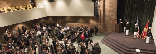 Hillsdale College Seniors Commissioned By U.S. Marine Corps