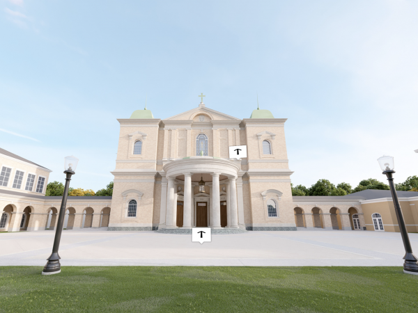 Mockup of the upcoming Christ Chapel.