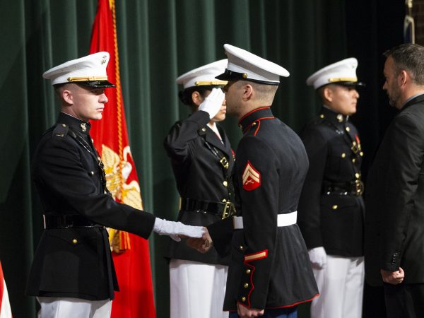 166th Hillsdale College Commencement Marine Corps Commissioning May 12, 2018