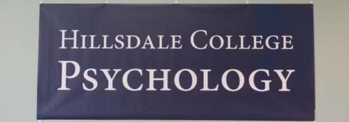 Hillsdale College Psychology Banner