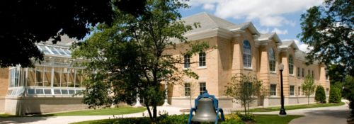 Bell on Hillsdale College campus