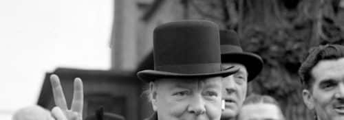 Winston Churchill Giving
