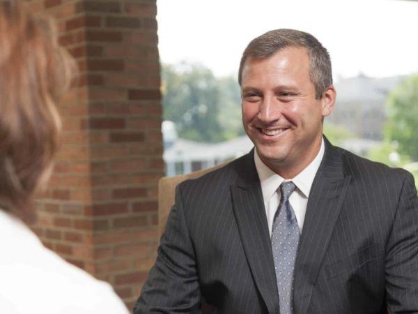 John C. Lauria, '95, president of Alumni Board