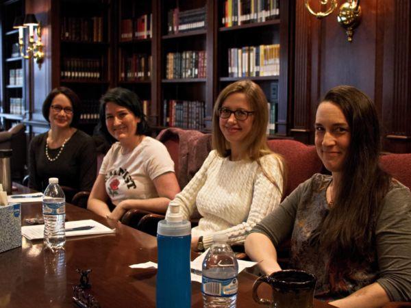 feminism panel, female professors