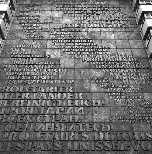 Karl Marx monument in Chemnitz, Germany