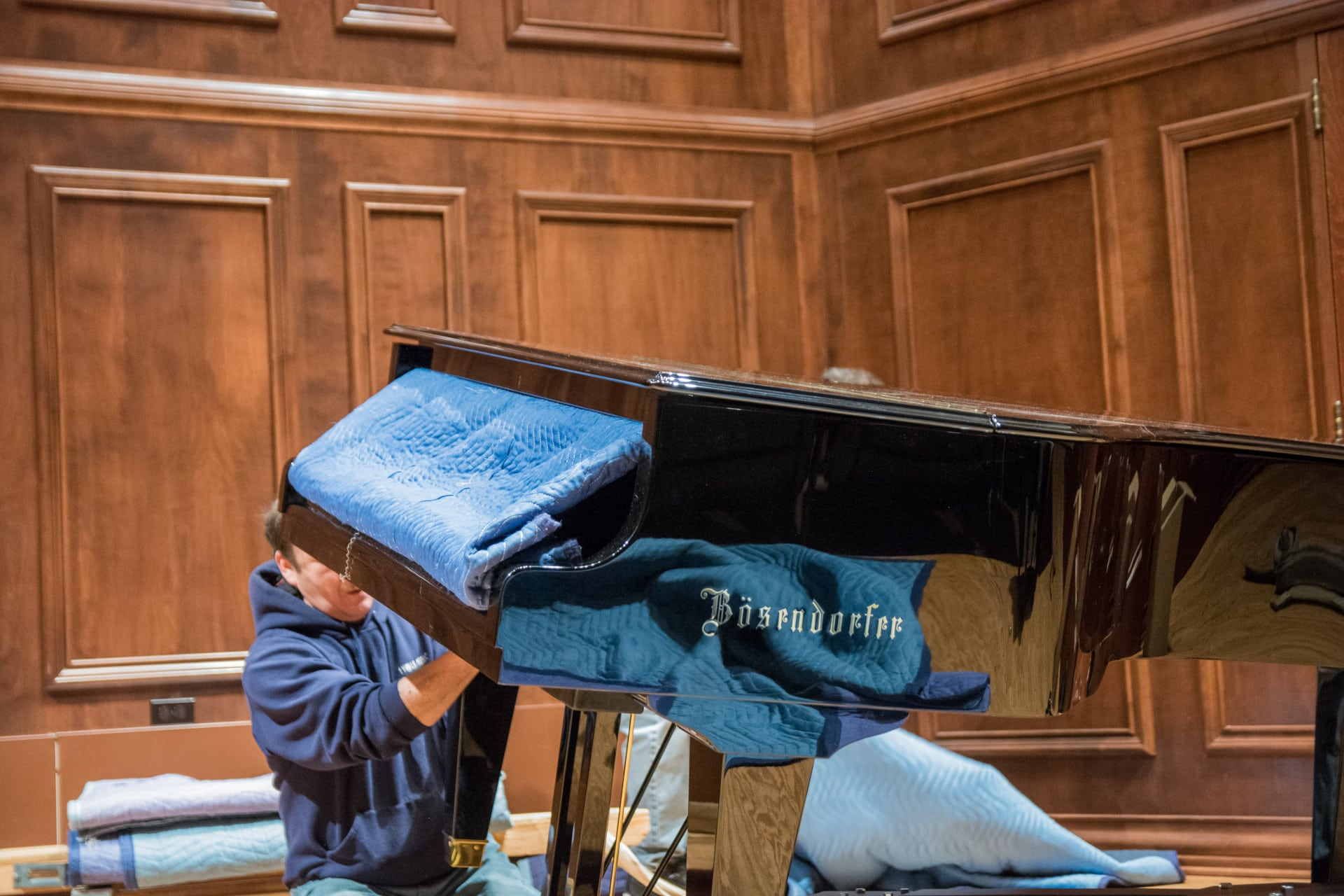 New Bosendorfer piano.
