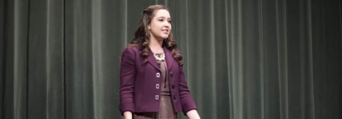 Taryn Murphy at Everett Oratory Competition
