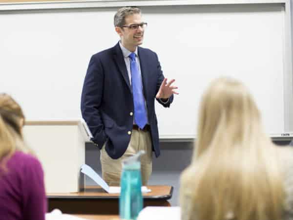 Jeffrey Lehman teaching