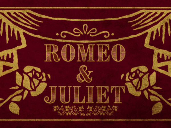 Romeo and Juliet book binding title