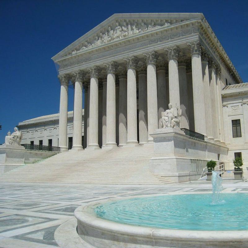 Usa Supreme Court Washington Architecture Building