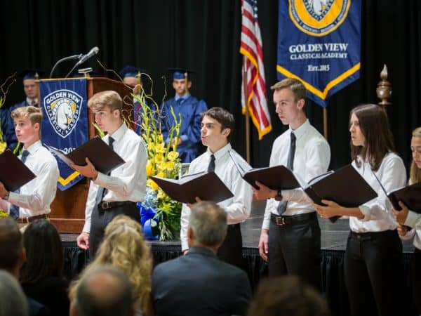 Golden View Classical Academy Graduation