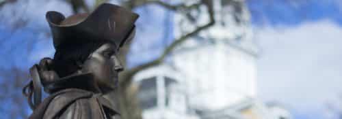 George Washington Statue on Campus