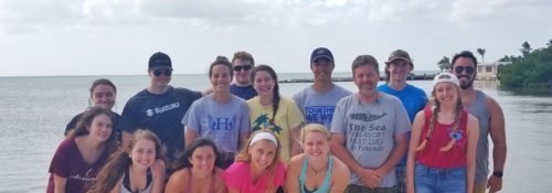 Biology students in Florida