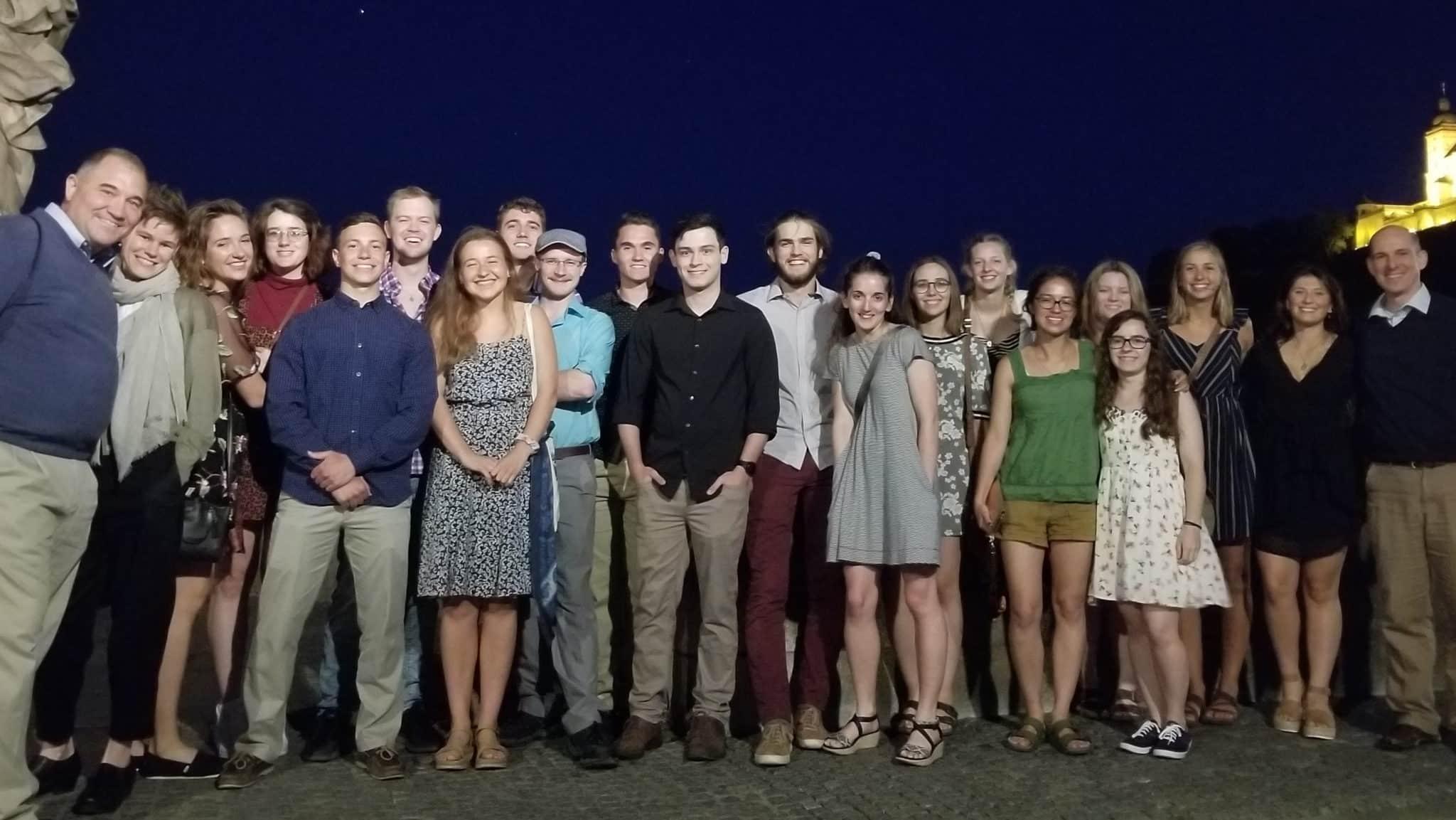 Group Photo on Bridge July 2019