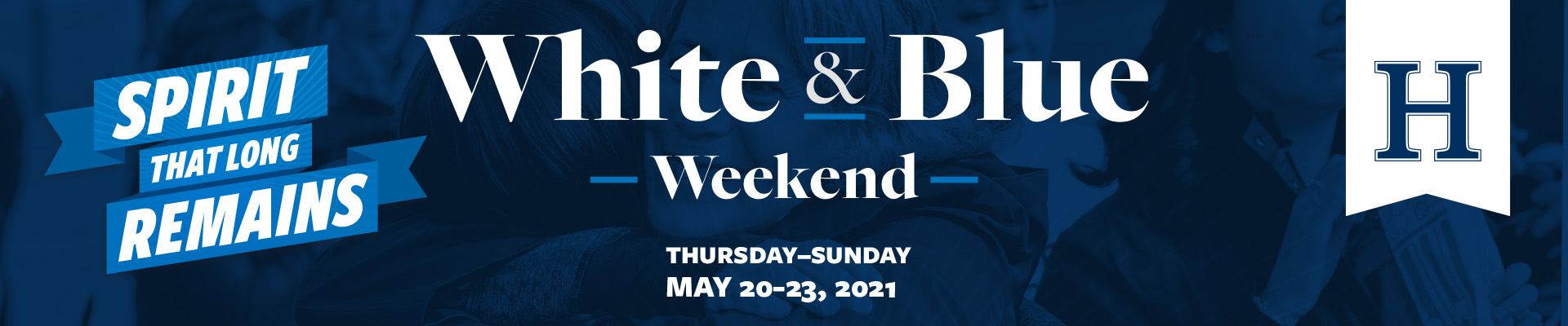 White and Blue Weekend