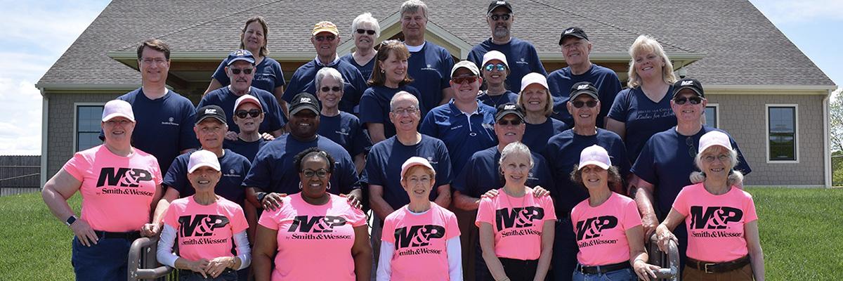 A group shot of participants